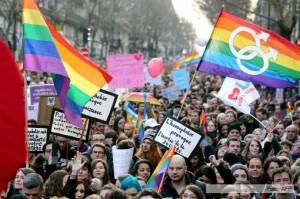 La Asamblea Nacional francesa aprobó el primer artículo del matrimonio igualitario