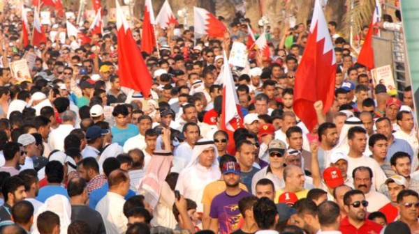 Bahrainis rally near capital to mark revolution anniversary