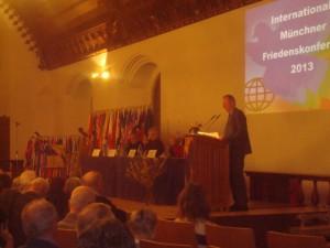 Munich, 11ª. Conferencia internacional por la Paz