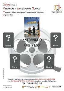 Cineforum di aggregazione sociale in zona 3 a Milano