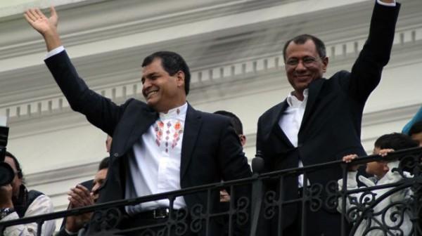 Correa re-elected as Ecuador's president