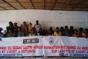 Face à la dette, les femmes du CADTM Afrique affinent leurs stratégies