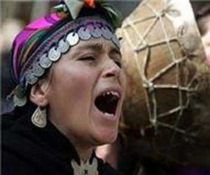 Please stop, stop now, Mister Piñera the destruction of Mapuche people