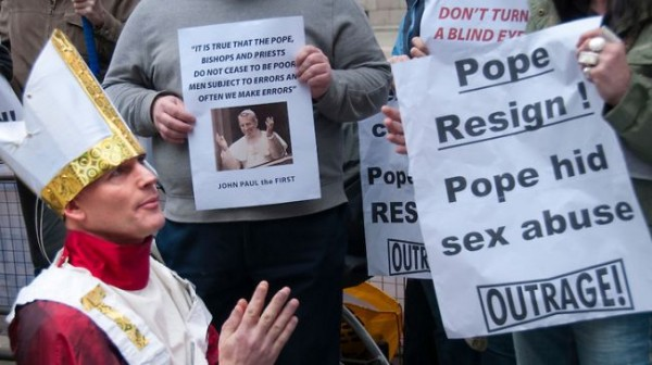Australian abuse victims group welcomes Pope's resignation