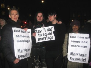 "UK gay marriage vote: ""A victory for love & equality"""