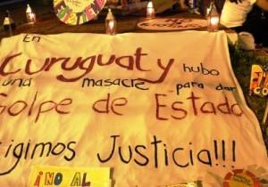 Acto por la libertad de los pres@s polític@s de Curuguaty