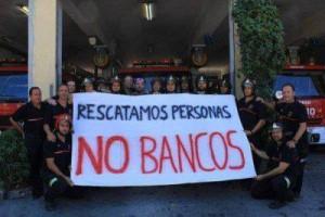 Spagna: i pompieri si rifiutano di partecipare agli sfratti