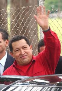 Le dernier salut d'Hugo Chavez