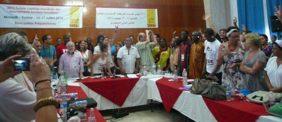 Le Forum social mondial de Tunis (26-30 mars 2013) : « La réussite dépendra de la participation des mouvements sociaux »