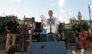 Ravenna, la poesia e il cinema di Roberto Malini contro razzismo e omofobia