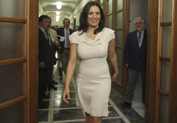 Greek Minister of Tourism 2013