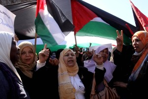 Palestinian women demand protection under the law