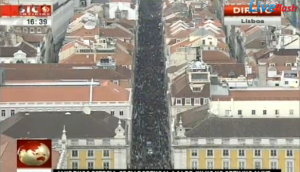 Portugal, mobilisation monstre contre la Troïka