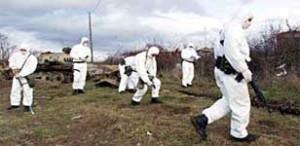 11 marzo 2013, processo sul poligono della morte Salto di  Quirra