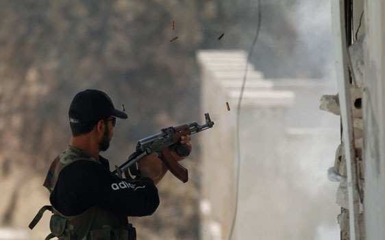 Occidente calla ante el uso de armas químicas por parte de los opositores sirios