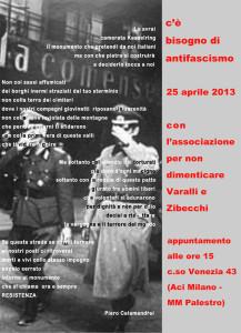 Milano, corteo del 25 aprile