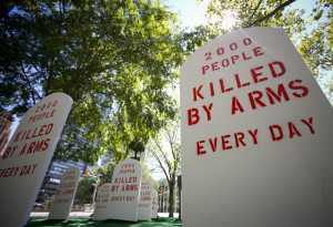 Arms Trade Treaty could legitimise arms sales