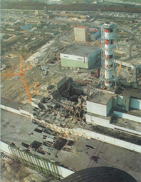 Nuclear disaster in Chernobyl (1986)