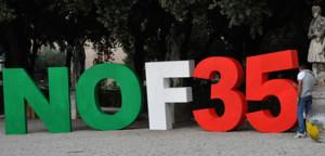 F35, lo stop mette d'accordo Pd, Sel e M5S