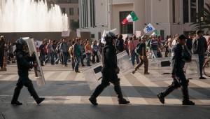 ONGs mexicanas piden al Gobierno del Distrito Federal que deje de criminalizar la protesta social