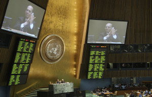 UN General Assembly approves global arms trade treaty