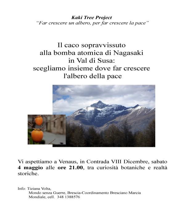 Il caco di Nagasaki in Val Susa