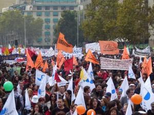 """Multitudinaria marcha nacional: """"El movimiento social recuperó la fuerza"""""""