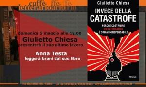"""Presentazione di """"Invece della catastrofe"""" di Giulietto Chiesa"""