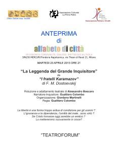 La leggenda del Grande Inquisitore a Milano