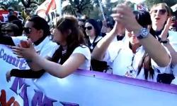 MUOS, la manifestazione nazionale accoglie con gioia la revoca ai lavori