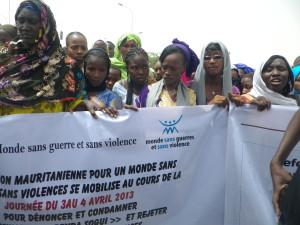 Manifestazione in Mauritania contro la violenza sulle donne