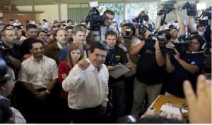 Horacio Cartes é eleito presidente do Paraguai com 46% dos votos