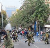 Chile: la violencia policial