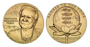 Gold Medal for Yunus – Mr Micro-credit