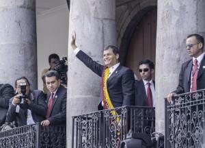 Foto-Reportaje: Toma de posesión del reelecto Presidente Rafael Correa