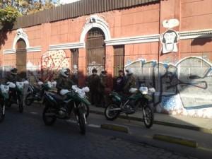 Augmentation de la répression policière au Chili