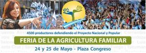 Feria de la Agricultura Familiar en Congreso el 24 y 25 de mayo