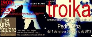 Troika, contracomunicación y postperiodismo, una exposición de Pedro Alba