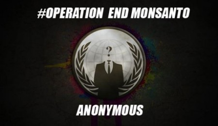 Anonymous atacan sitio web de Monsanto
