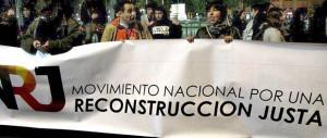 Las sombras de la re-construcción post terremoto del 27/F develadas por organizaciones de damnificados que interpelan al régimen Piñerista