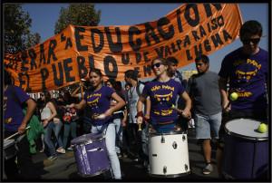 Foto-Reportaje: Paro y Movilización Estudiantil,  Santiago de Chile