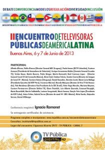 II Encuentro de Televisoras Públicas de América Latina.