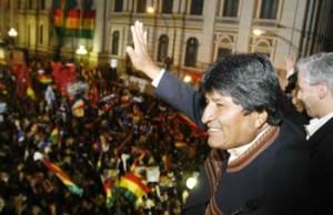 Popularidade de Evo Morales registra maior cifra no último ano