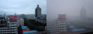 China, sofocada por la contaminación
