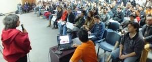 Fotos: 400 voluntarios Movimiento Tod@s a La Moneda se reúnen en 1er Encuentro Constituyente