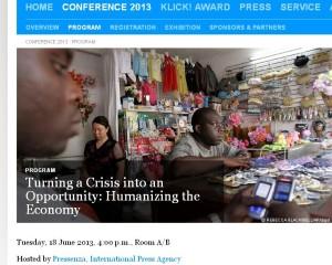 Pressenza al Global Forum della Deutsche Welle