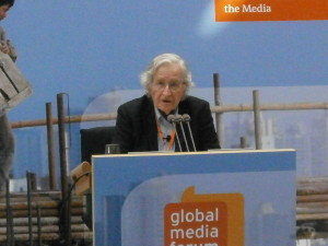 """A path to a Just World – people reviving Democracy"". Comments on Noam Chomsky's speech"