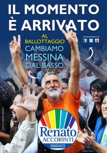 Il cambiamento parte dal basso, Renato Accorinti sindaco di Messina