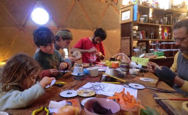 PEHUEN de NAHUELBUTA; un lugar para aprender en comunidad.