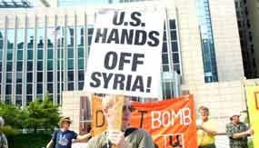 Maioria nos EUA oposta na ação militar contra a Síria